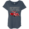 Respect Your Elders Bug Womens loose T-Shirt