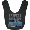Respect Your  Elders Bus Baby Bib