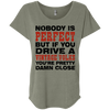 Nobody Is Perfect Womens Loose Shirt