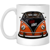 Bus Front 11 oz. White Mug