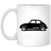 VDUB Bug 11 oz. White Mug