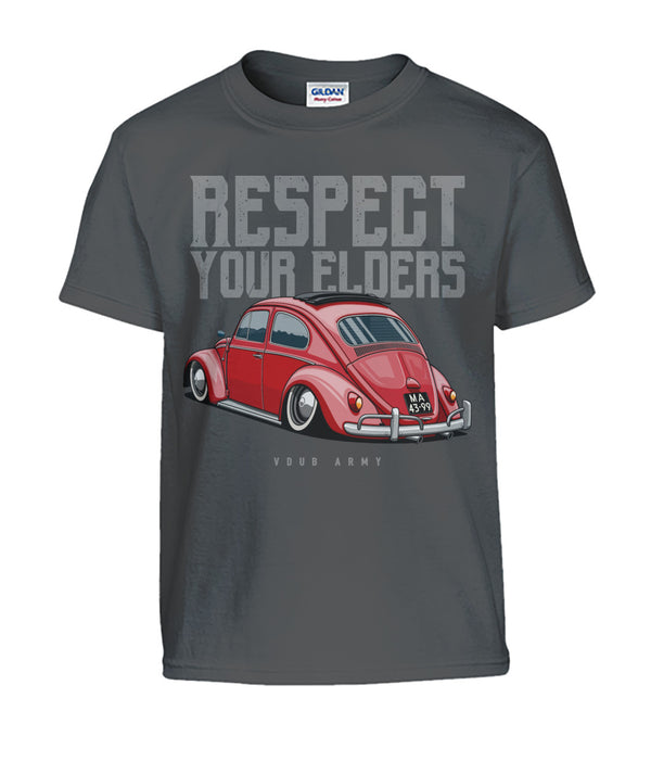 Respect Your Elders Bug Kids T-Shirt