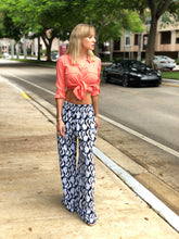 Printed Big Wide Pants