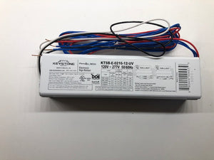 Parallel wired electronic sign ballast 2-16' 1-2L