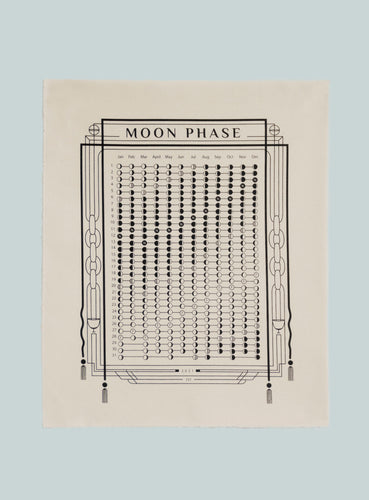 2021 Cloth Moon Phase Calendar