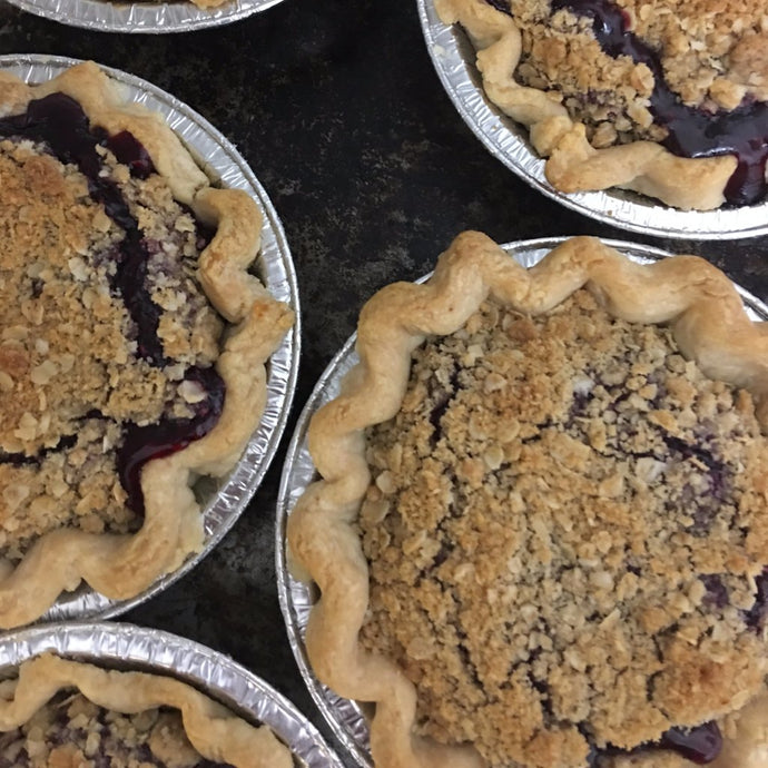 Mini Triple Berry Crumble
