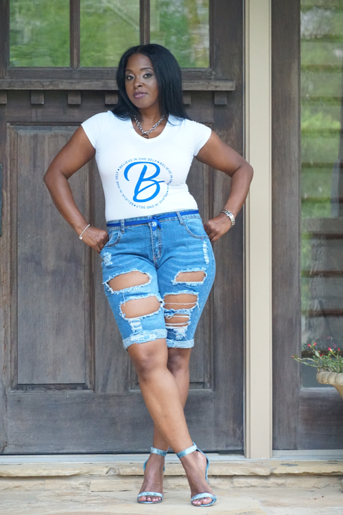 B.I.O.S. Women's Denim Shorts