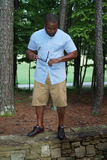 B.I.O.S. Short Sleeved Button-down Shirt
