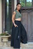 B.I.O.S. Flowing Wide-legged Pants (Black)
