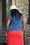 B.I.O.S. Women's Denim Vest