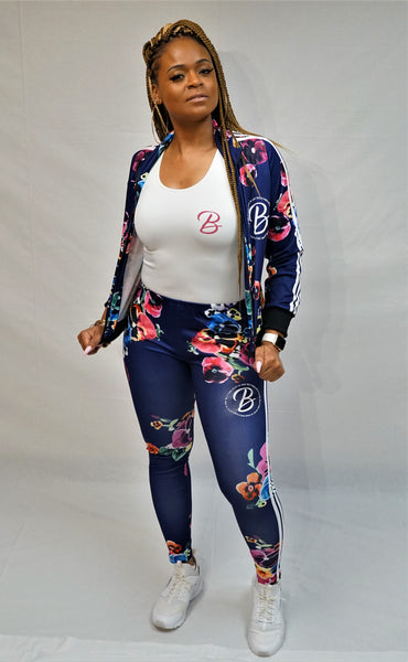 B.I.O.S Women's Floral Track Suit