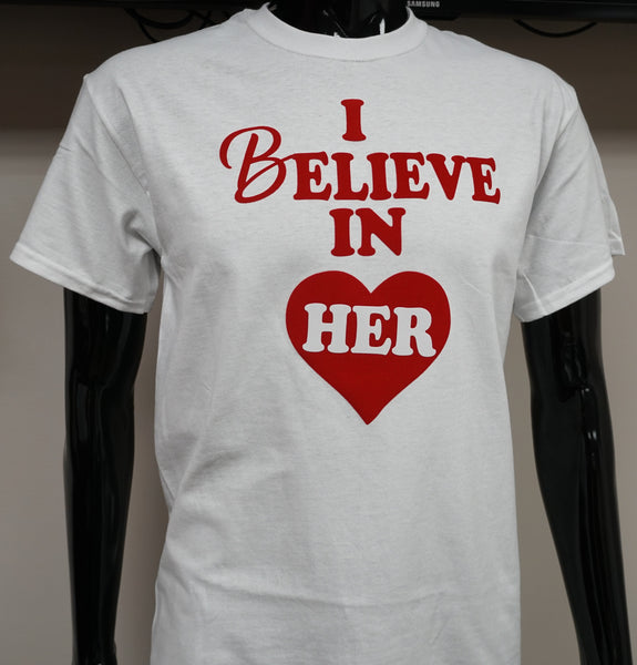 B.I.O.S. Believe In Her T-Shirt