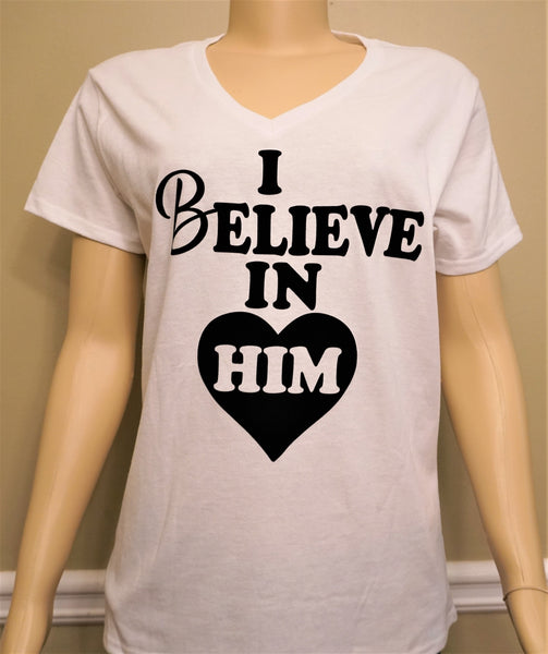 B.I.O.S. Believe In Him T-Shirt