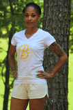 B.I.O.S. Women V-Neck T-Shirt