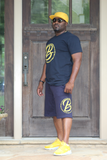B.I.O.S. Men's Athletic Drawstring Shorts
