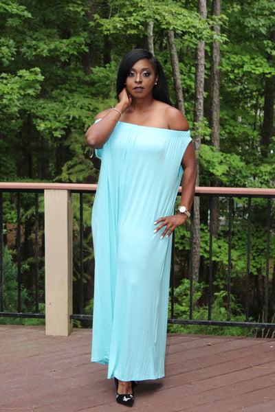 B.I.O.S. Loose Off Shoulder Jumpsuit (pastels)
