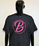 B.I.O.S. PRODUCT PINK© Men's Logo T-Shirt