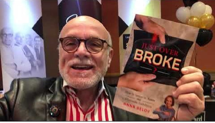 Gerry Robert is thrilled as Anna Belov's Just Over Broke brings Personal Financial Success around the World
