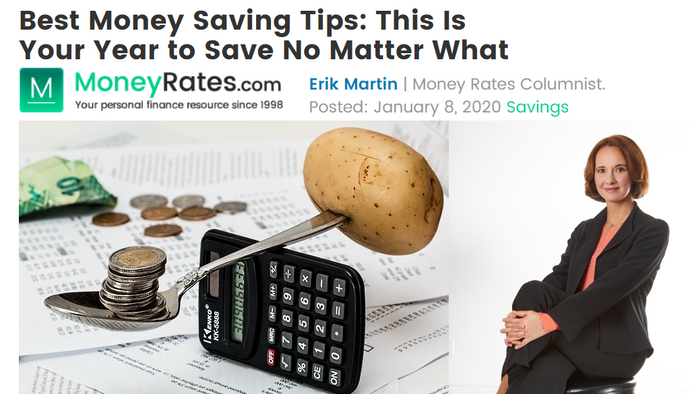 Anna Belov contributes to MoneyRates.com: Best Money Saving Tips