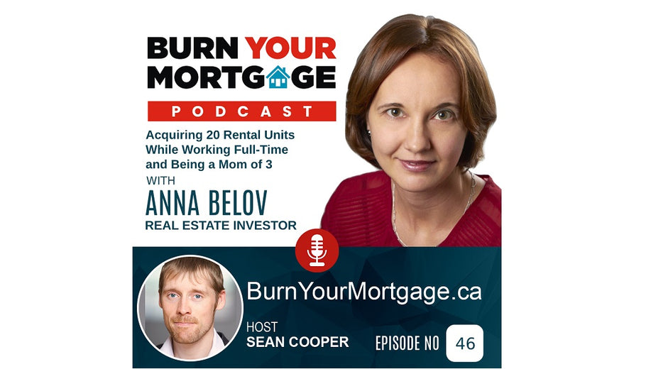 Anna Belov interviewed by Sean Cooper to encourage Canadian Women to Invest in Real Estate and Succeed