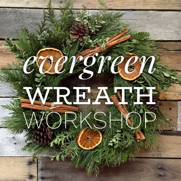 Wreath Workshop - December 13th