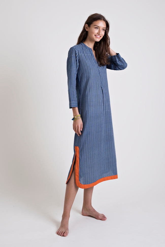 Gallabia Blue Moon Dress