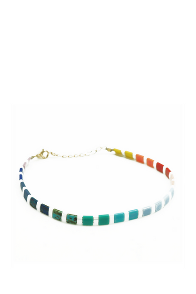 By Johanne Rainbow Sunkissed Bracelet