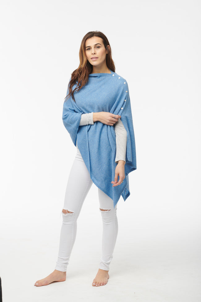 Button Poncho - Colours
