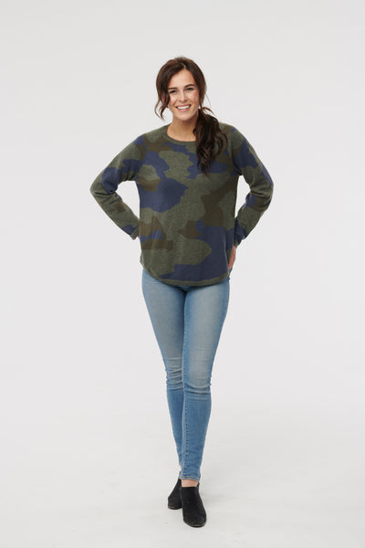 Cashmere Camo Sweater