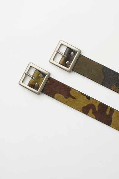 Leather Army Belt