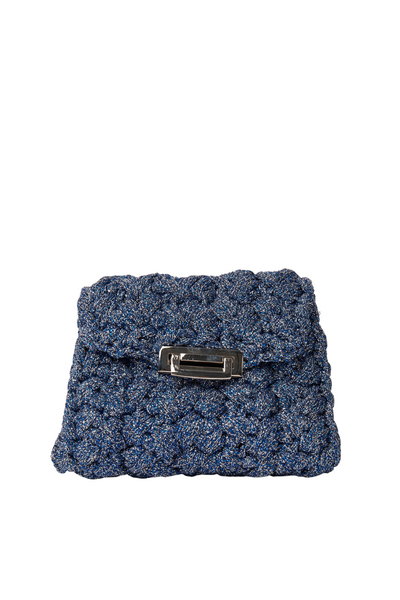Bar Texture Crochet Bag by Lorenza