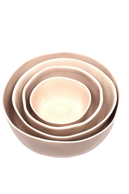 Kazi Bowl - Kisasa, Small Black & White