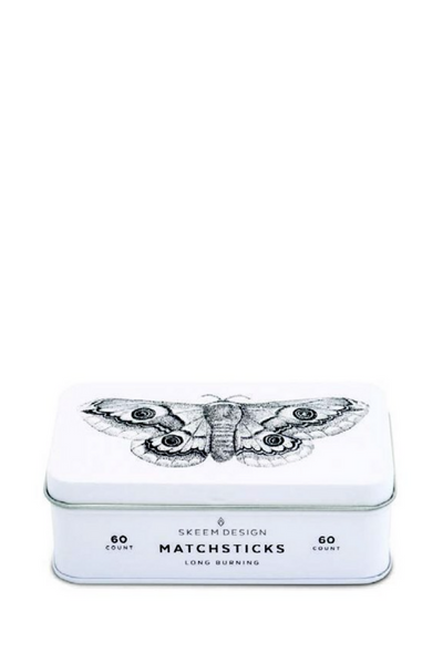 Citronella Moth Match Tin