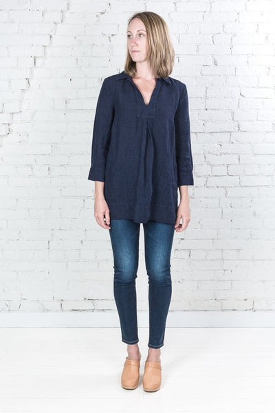 Painter Tunic - Indigo