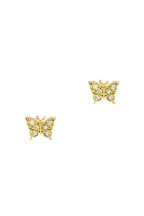 Tai, Butterfly Post Earrings