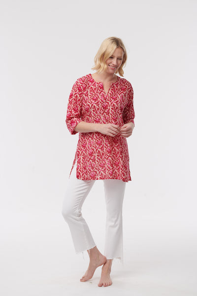 Patterned Cotton Tunic