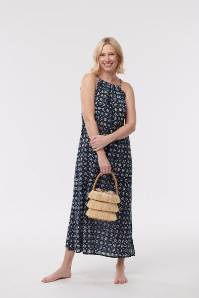 D. Bali Halter Maxi Dress