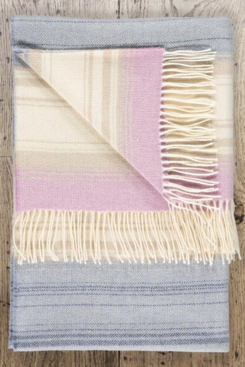 TWIG - Helle Denim Lambswool Throw