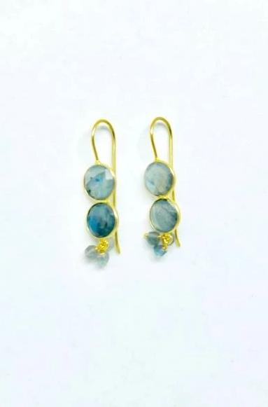 Jaipur Labradorite Earrings