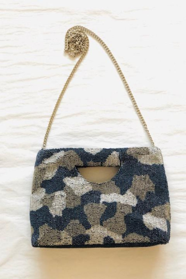 Camo Cut Out Clutch