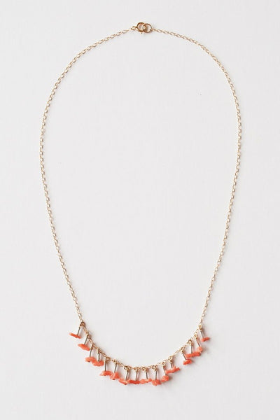 Mila Coral Necklace