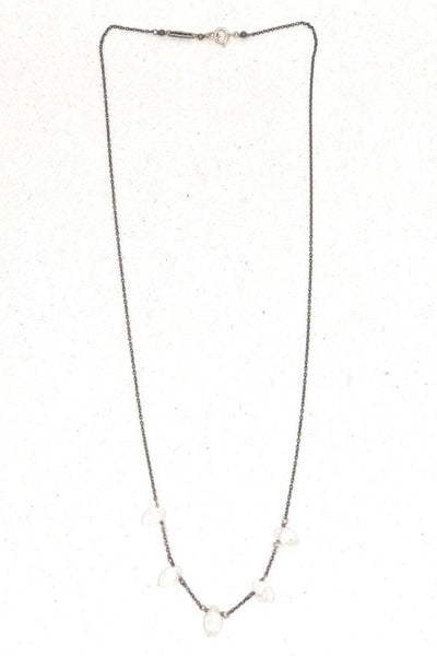 Chan Luu Nickel Necklace with Moonstones