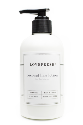 Lovefresh Hand and Body Lotion