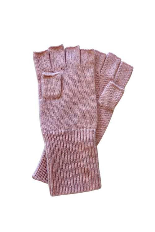 Women's Cashmere Fingerless Gloves