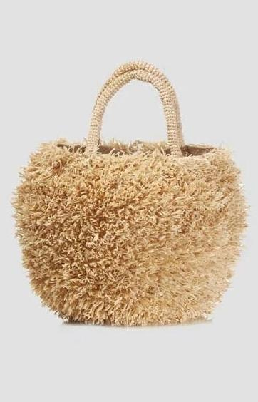 Sans Arcidet Sakipik Large Bag - Naturel