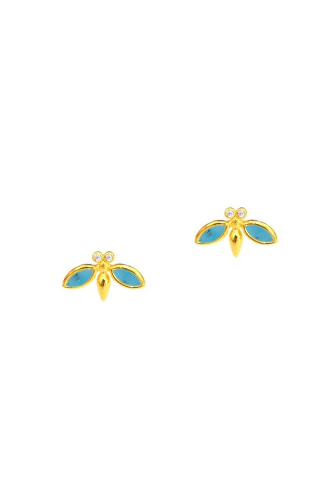 Tai, Bee Stud Earrings