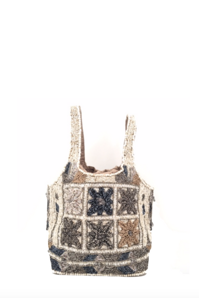 Imayin, Lys Bag with Beaded Embroidery