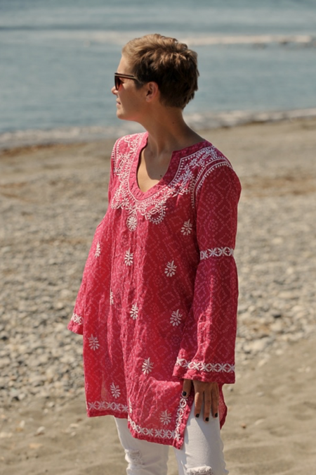 Emerson Fry, Francina Caftan - Sea Gold Lurex