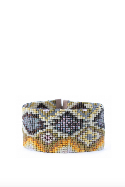 Julie Rofman, Large Beaded Cuff