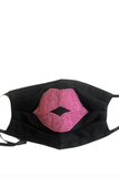 Mask, with Pink Lips